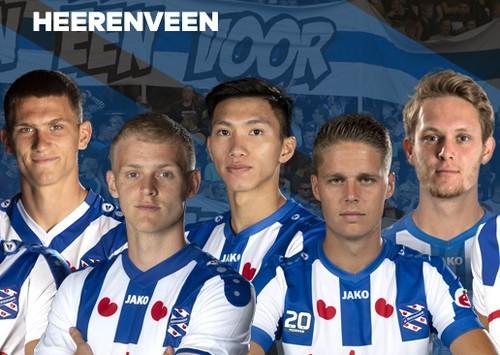 Văn Hậu gặp cạnh tranh rất lớn tại Heerenveen SC.