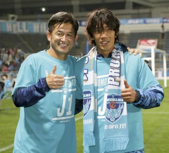 Miura và Nakamura cùng hướng đến việc lập kỷ lục.