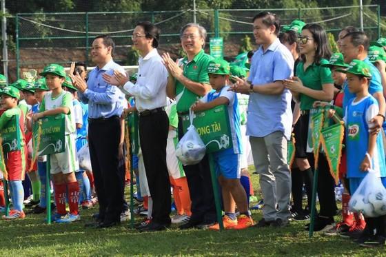 Tưng bừng ngày hội bóng đá Học đường tại TPHCM ảnh 1