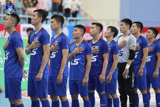 Thái Sơn Nam khẳng định sức mạnh với ngôi đầu bảng sau lượt đi. Ảnh: TSNFC