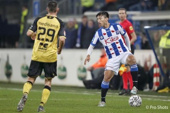 Văn Hậu trên đường trở lại với V-League.