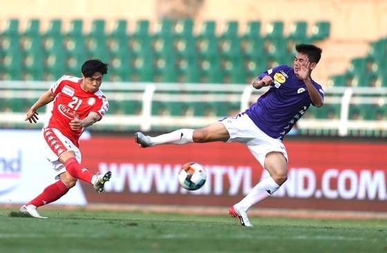 CLB Hà Nội đã vượt qua CLB TPHCM ở trận tranh Siêu Cúp  2019 hồi đầu mùa. Ảnh: DŨNG PHƯƠNG