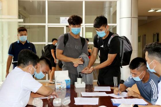 Đội tuyển U22 Việt Nam hội quân ảnh 1