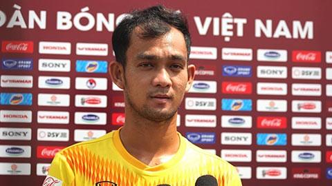 Nguyễn Hoàng Duy: Tôi tự hào khi được gọi tập trung đội tuyển U22 Việt Nam ảnh 1