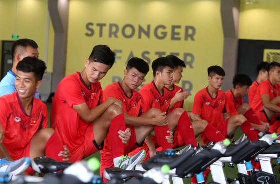 Đội U19 Việt Nam đang rèn quân tại Trung tâm PVF