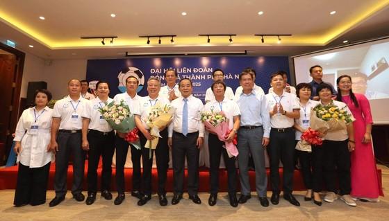 Chủ tịch VFF chúc mừng Ban chấp hành nhiệm kỳ mới của LĐBĐ Hà Nội