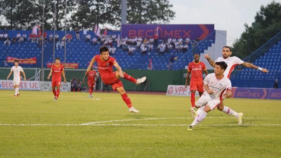 Becamex Bình Dương hoàn thành chỉ tiêu vào top 8 V-League  ảnh 1