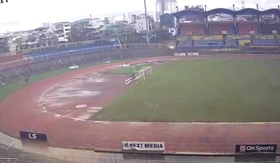 Dời địa điểm tổ chức trận Hà Tĩnh - Viettel vì thời tiết xấu ảnh 1