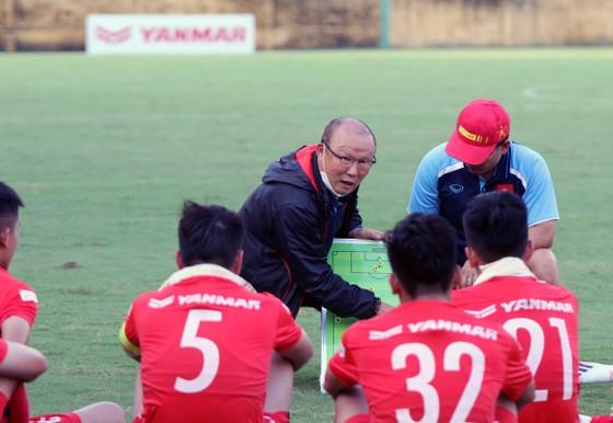 Thầy trò đội U22 Việt Nam trong đợt tập trung gần đây