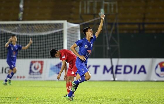 Vượt qua B.Bình Dương, Đà Nẵng tiến vào trận chung kết. Ảnh: Anh Khoa
