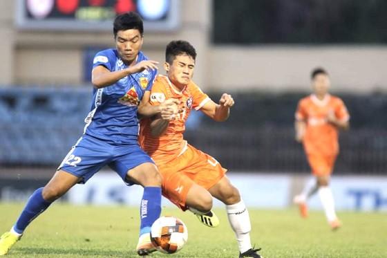 Quảng Nam giành trọn 3 điểm trước Đà Nẵng. Ảnh: VIẾT ĐỊNH