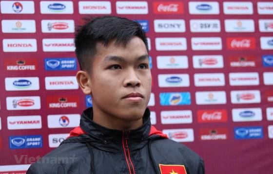 Tiền vệ Nguyễn Hữu Thắng đặt mục tiêu góp mặt tại SEA Games 31 ảnh 1