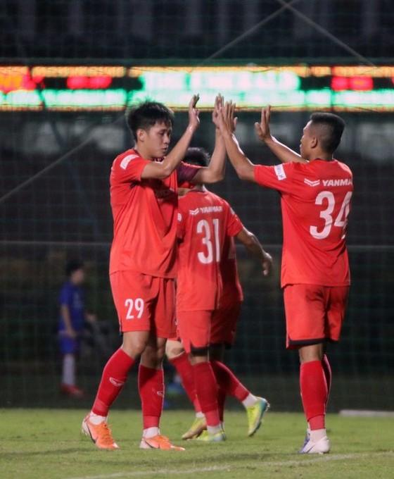 Thi đấu tập huấn: U22 Việt Nam thắng Phố Hiến 2-0 ảnh 1