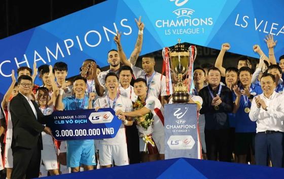 CLB Viettel lên vô địch LS V-League 2020 ảnh 2