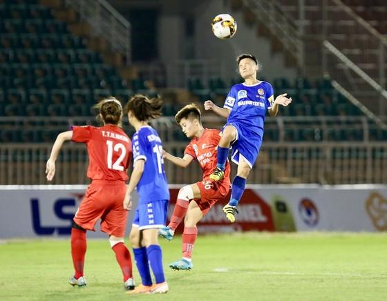 Vòng 8 giải bóng đá nữ VĐQG 2020: Hà Nội I tạm chiếm ngôi đầu bảng ảnh 1