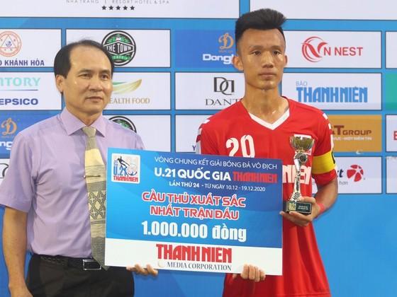 Mai Xuân Quyết, thủ lĩnh của U21 Nam Định ảnh 1