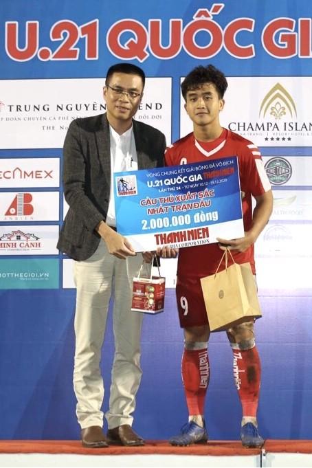 VCK U21 Quốc gia 2020: Danh Trung đã ghi bàn ảnh 1