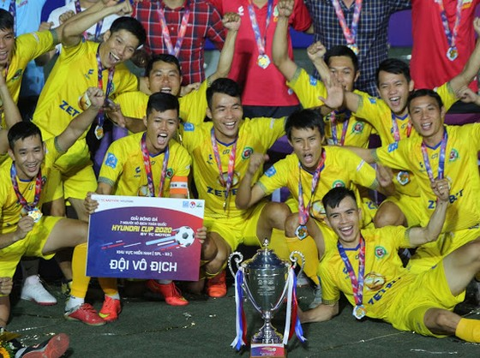 Niềm vui chiến thắng của Kardiachain Sài Gòn