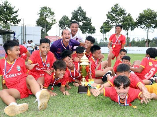 B.Bình Dương vô địch giải bóng đá quốc tế U13 Việt Nam – Nhật Bản ảnh 1