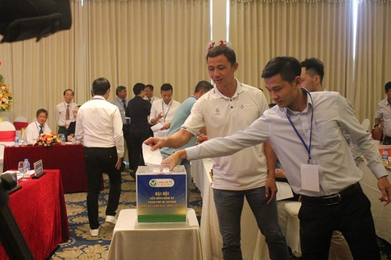 Đại hội LĐBĐ TPHCM, ông Trần Anh Tú tái đắc cử vị trí Chủ tịch  ảnh 1