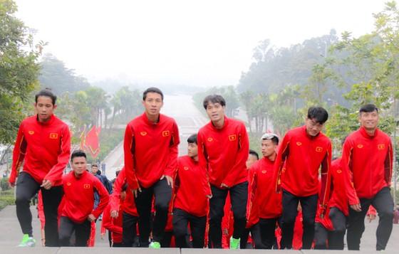 ĐTQG và U22 Việt Nam dâng hương tưởng nhớ các vua Hùng ảnh 1
