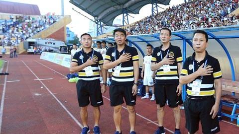 """HLV Văn Sỹ Sơn khi còn là """"phó tướng"""" cho ông Chu Đình Nghiêm ở Hà Nội FC"""