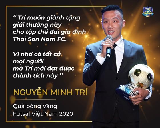 Nguyễn Minh Trí: QBV Futsal là động lực để quyết tâm giành vé dự World Cup ảnh 2