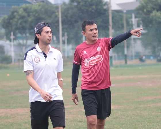 Lee Nguyễn sẵn sàng cho cuộc đua vô địch V-League ảnh 1