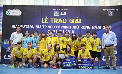 Thái Sơn Nam quận 8 đoạt ngôi hậu tại Giải nữ Futsal TPHCM mở rộng ảnh 1