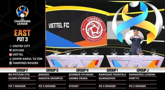 Bốc thăm các giải AFC: Viettel rơi vào bảng 'xương', Hà Nội dễ thở ảnh 1