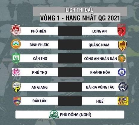 Tân binh Phú Thọ gặp Khánh Hòa ở trận khai mạc giải hạng Nhất 2021 ảnh 2