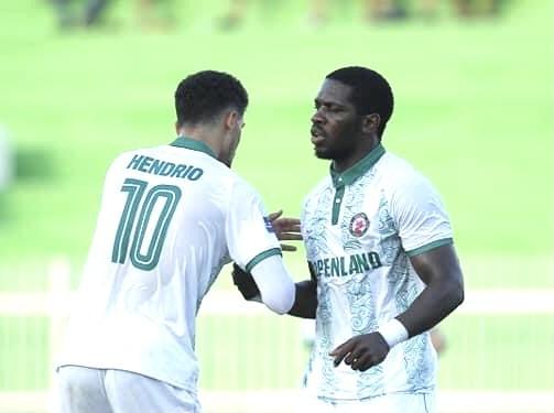 Rimario ghi bàn trong trận hoà của Bình Định trước Khánh Hòa. Ảnh: BĐFC