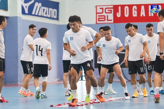 Các đội 'hâm nóng' cho Giải futsal VĐQG 2021   ảnh 2