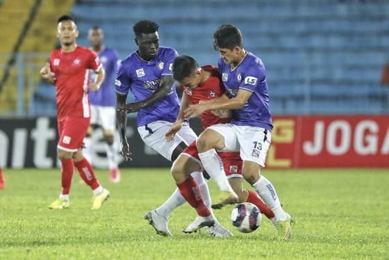 Hà Nội thắng trận đầu tiên tại LS V-League 2021  ảnh 1