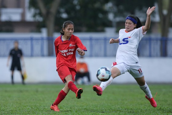 Đội U19 nữ TPHCM giành 1 điểm vào phút cuối ảnh 4