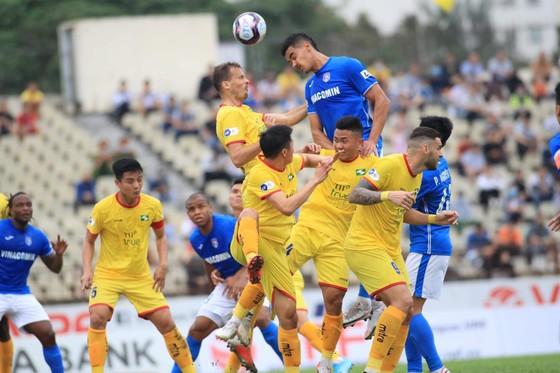 SLNA thắng trận đầu tiên tại LS V-League 2021 ảnh 1