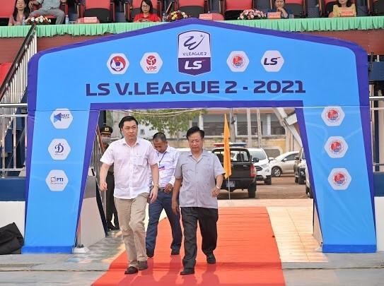 Sân Bình Phước khánh thành khán đài A ảnh 1