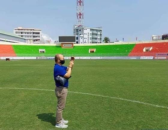 Bình Định lần đầu tiên đón đội tuyển Việt Nam về tập luyện ảnh 1