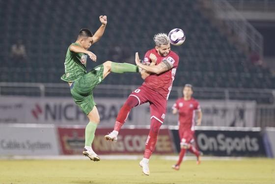 Sài Gòn FC và Hải Phòng níu chân ở nhóm cầm đèn đỏ  ảnh 1