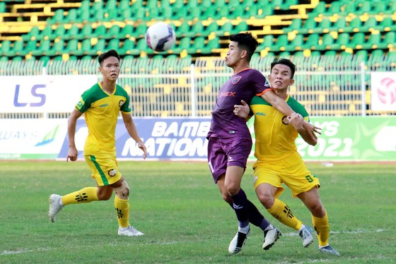 Cúp Quốc gia 2021: HA.GL chật vật vượt qua An Giang với đội hình 2 ảnh 1