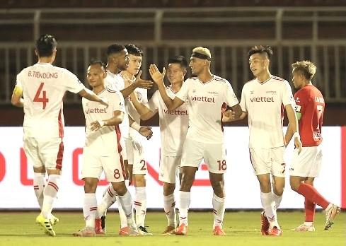 CLB TPHCM cầm hòa Viettel sau bàn thắng gây tranh cãi ảnh 1