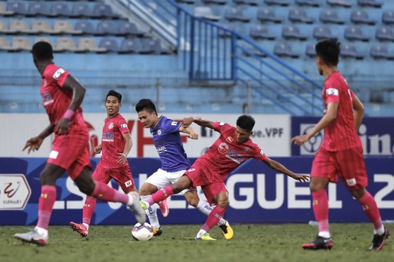 Sài Gòn FC sớm vào nhóm tranh trụ hạng ảnh 1