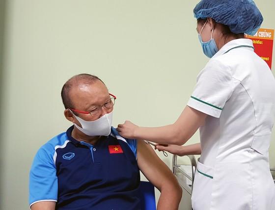 Thầy trò HLV Park Hang-seo xét nghiệm Covid-19 sau khi hội quân ảnh 1