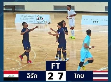 Thắng đậm Iraq, Thái Lan đặt 1 chân đến VCK futsal World Cup 2021 ảnh 1