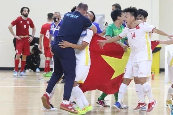 Đội tuyển futsal Việt Nam với chiến tích lần thứ 2 tham dự VCK World Cup. Ảnh: ANH TRẦN