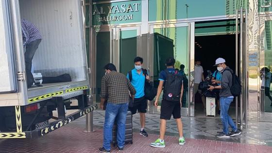 Đội tuyển Việt Nam đến khách sạn mới cùng 4 đội còn lại ảnh 3