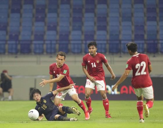 Thái Lan lỡ cơ hội áp sát ngôi đầu bảng của đội tuyển Việt Nam khi chỉ giành được 1 điểm vào tối 3-6. Ảnh: ANH KHOA