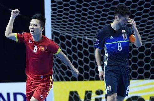 """Futsal Việt Nam từng """"gieo sầu"""" cho đội tuyển futsal Nhật Bản 5 năm trước"""