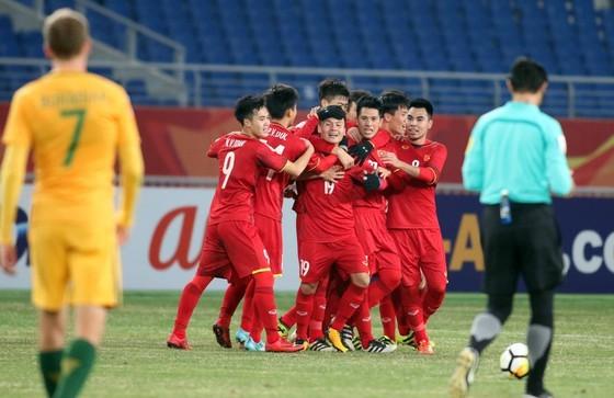 Trận U23 Việt Nam thắng Australia 1-0 vào năm 2018 với bàn thắng của Quang Hải