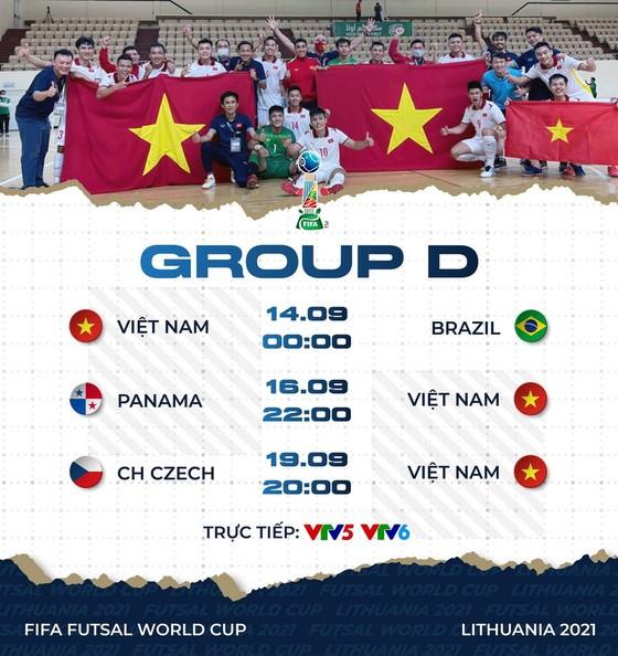 Trưởng đoàn Trần Anh Tú tin tưởng đội futsal Việt Nam sẽ qua được vòng bảng ảnh 2